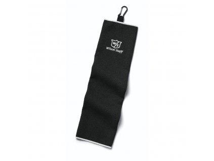 WILSON ručník Staff Trifold černý