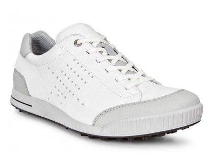 Ecco Street Retro pánské golfové boty bílé