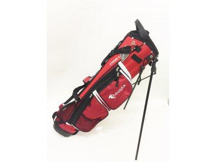 Cougar bag na záda Milano červený