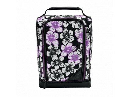 CALLAWAY Uptown Shoe dámská taška na golfové boty černo-fialová