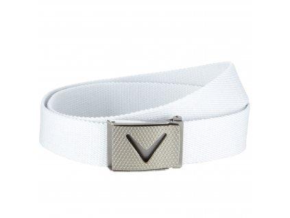 CALLAWAY pánský pásek Belt Cut-to-fit bílý