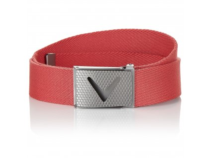 CALLAWAY pánský pásek Cut-to-fit červený
