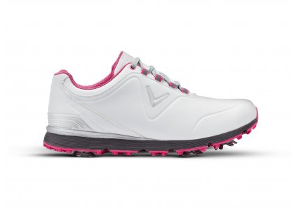CALLAWAY dámské golfové boty W632-01 Mulligan bílo-růžové