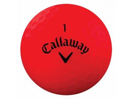 CALLAWAY Superhot Bold 18 golfové míčky červené (1 ks)