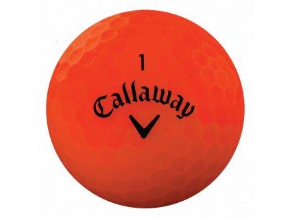 CALLAWAY golfové míčky Superhot Bold 18 oranžové (1 ks)