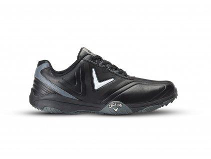 6b48a5ff24c Callaway Chev Comfort pánské golfové boty černo-stříbrné