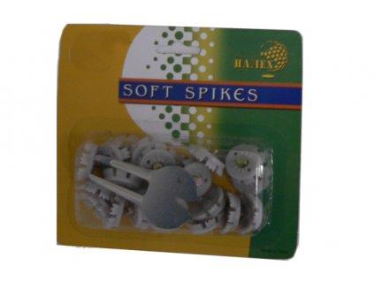 Soft Spikes (22 šedých spiků a ocelové vypichovátko)