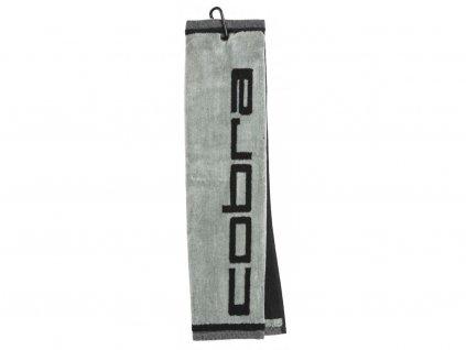 COBRA ručník Towel Tri Fold šedo-černý