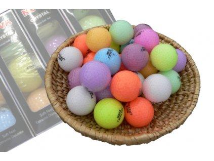 CRYSTAL golfové míčky (1 ks)