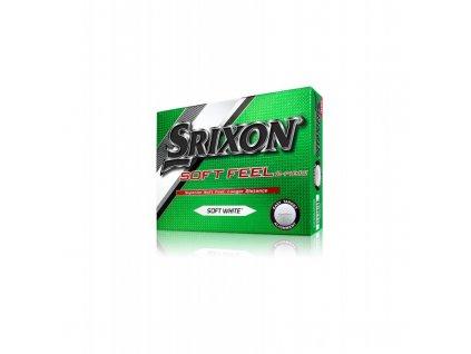 golfove micky srixon soft feel white 12 ks