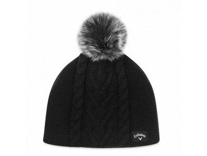d969359e56d CALLAWAY dámská zimní čepice Pom Pom Beanie černá