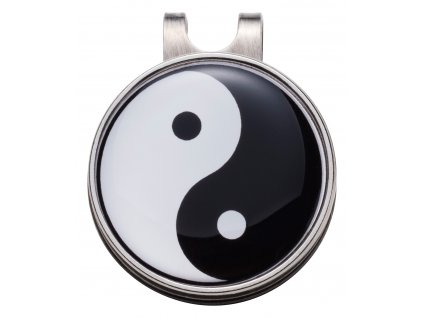 Hat clip Yin & Yang