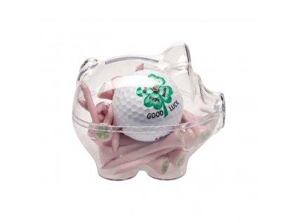 sportiques sparschwein ball tees rosa
