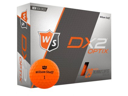327145 Wilson Staff DX2 Optix Orange