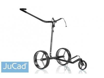 JUCAD Carbon Travel golfový elektrický vozík černá