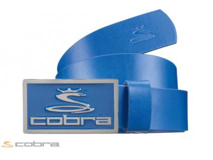 COBRA pásek Enamel Fitted Belt modrý (Velikost opasku L)