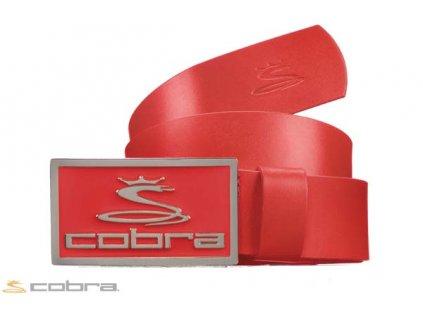 COBRA pásek Enamel Fitted Belt červený (Velikost opasku M)