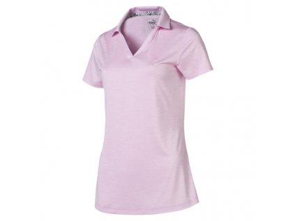 PUMA dámské tričko Super Soft světle růžové
