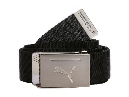 PUMA Reversible Web Belt pánský opasek černo-šedý