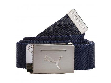 PUMA Reversible Web Belt pánský opasek modro-šedý