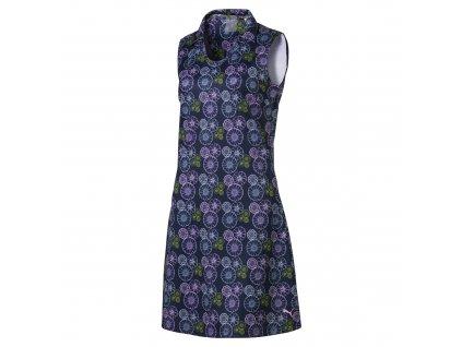 PUMA dámské šaty Fair Days and FW tmavě modré