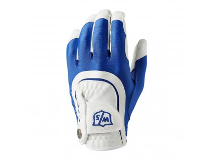 wilson staff fit all mens golf glove wilson staff fit all golf glove blue 2000x2000