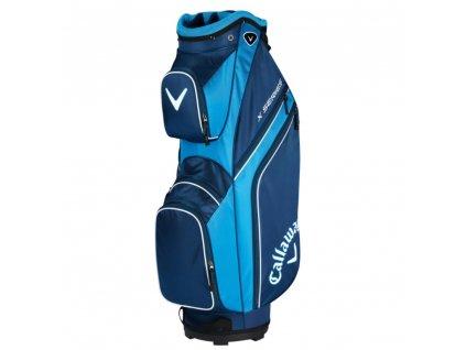 CALLAWAY bag na vozík X Series modro-bílý
