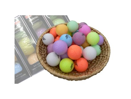 CRYSTAL golfové míčky (12 ks)