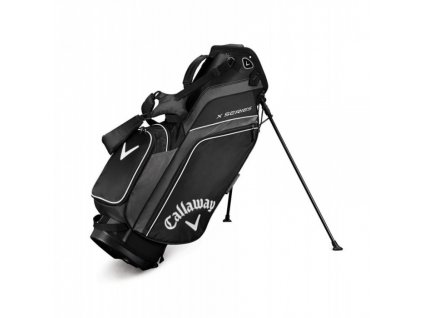 CALLAWAY X Series standbag stříbrno-černo-bílý