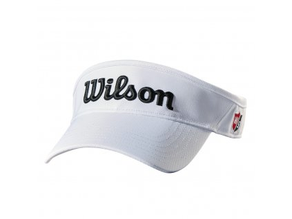 9d4fcf0589a344683be2ccef59628eb1aa4099dc WGH6300WH WS Wilson Visor White Front