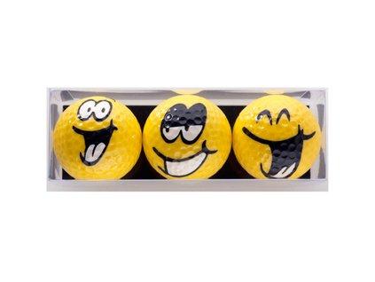 SPORTIQUES dárkové balení míčků Velcí Smajlíci