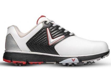 CALLAWAY M574-169 Chev Mulligan S pánské golfové boty bílo-černo-červené