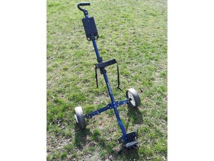 SABRE golfový vozík modrý