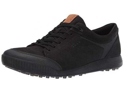golfové boty Ecco street retro cerné