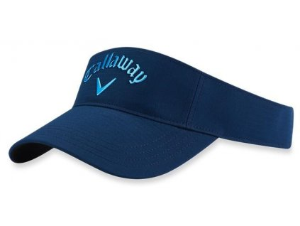 CALLAWAY golfový kšilt Liquid Metal Visor modrý