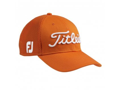 Titleist Tour Sport Mesh Cap orange M L