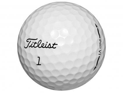 TITLEIST Pro V1 hraný míček - Pearl Quality