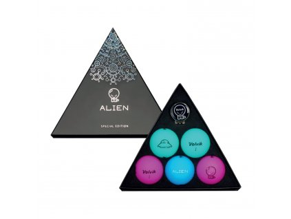 VOLVIK Alien dárkové balení golfových míčků limitovaná edice