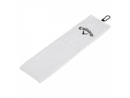 CALLAWAY ručník Tri-fold bílý