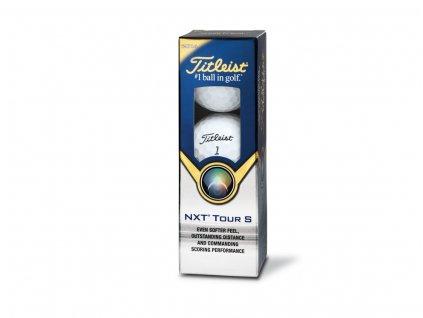 TITLEIST golfové míčky NXT Tour S 2014 (3 ks)