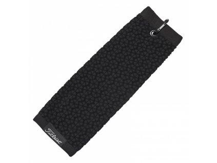 TITLEIST ručník Tri-Fold Towel černý