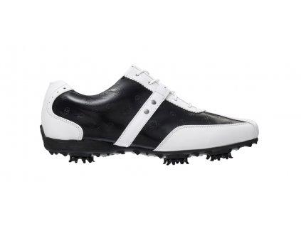 FOOTJOY dámské golfové boty Lopro bílo-černé