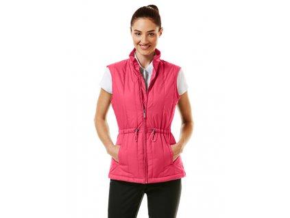 CALLAWAY dámská vesta růžová
