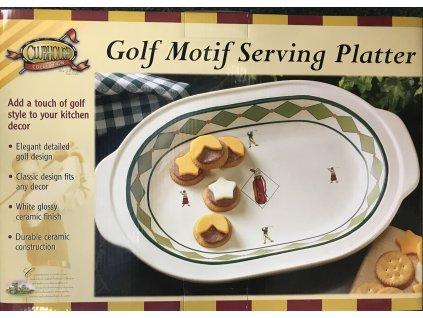 Servírovací miska golfový motiv