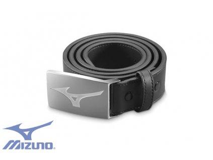 MIZUNO opasek Leather Belt černý