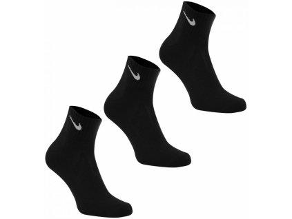 NIKE ponožky Dri-Fit Quarter Row 3 páry černé 5c37c75f08