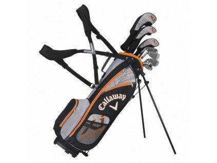 CALLAWAY XJ Hot dětský golfový set 104-127 cm, grafitový na pravou stranu