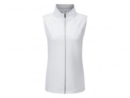FOOTJOY dámská vesta bílá (Velikost oblečení M)