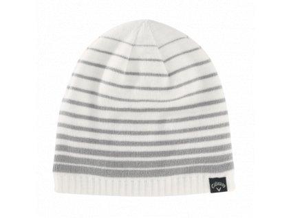 CALLAWAY zimní čepice Chill bílá