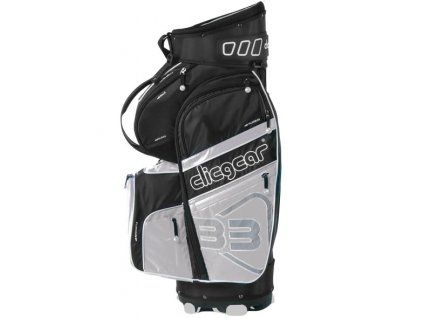 CLICGEAR B3 golfový bag bez nožiček Šedý  + Castle tee 100ks
